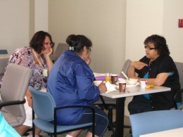 Vancouver School of Theology - Discussion over lunch at