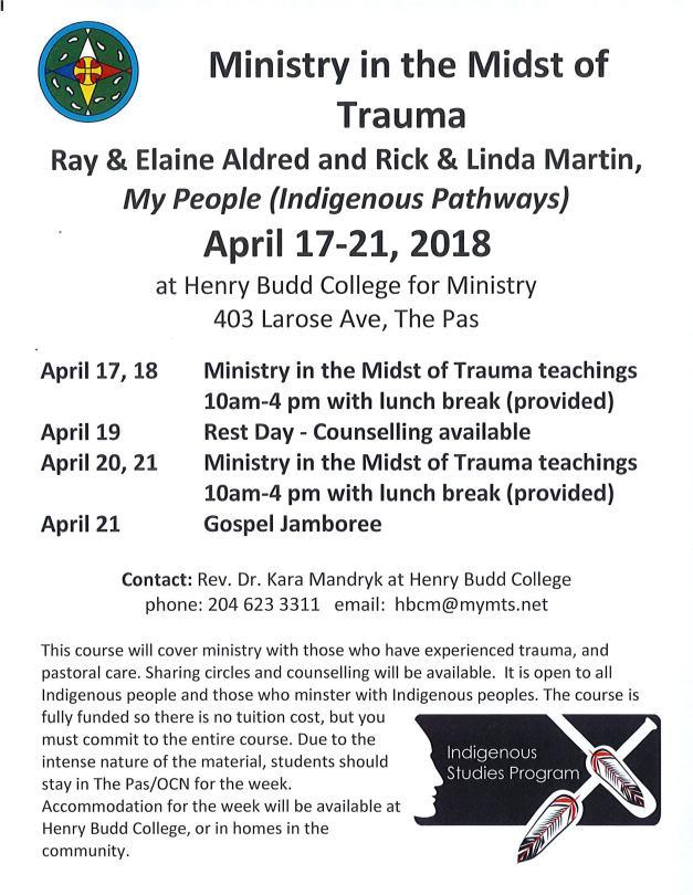 Ministry in Trauma